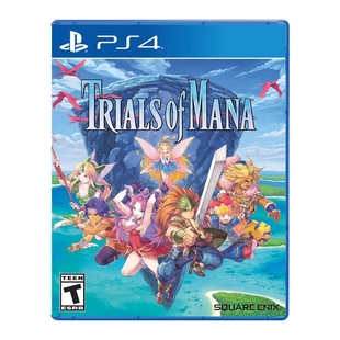 Juego PLAYSTATION  PS4 Trials Of Mana - LATAM