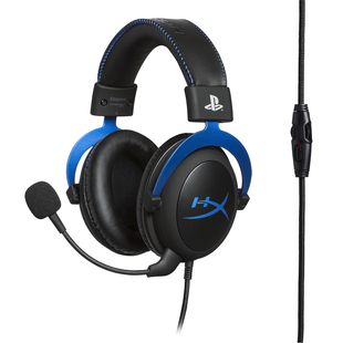 Audífonos de Diadema HYPERX Alámbricos On Ear Cloud PS4 Azul/Negro