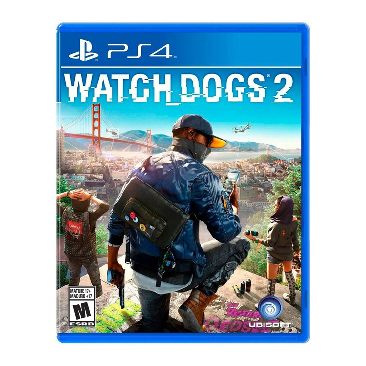Juego PS4 Watch Dogs 2 Spanish